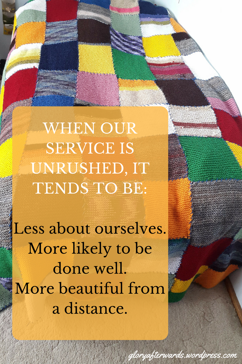 unrushed-service