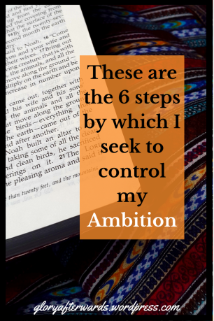 i struggle with my ambition www.gloryafterwards.wordpress.com #reflection #2018 #2017 #hope #God #christian #life
