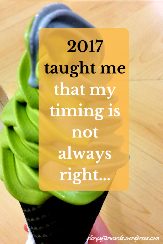 I did some big things this year, but the problem was...www.gloryafterwards.wordpress.com #reflection #2018 #2017 #hope #God #christian #life